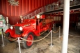 Old fire truck at Ponce Fire House