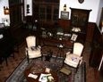Sitting room display in Serralles Castle Museum