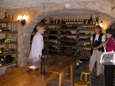 Another view of the wine cellar